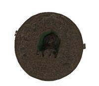 "Old Gau Ghau 7 "" 9 Budda Soprammobile Figurina Travel Shrine Prayer Box 2086 B7"