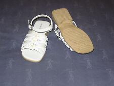 NWOB Stride Rite White Strap Sandals Size 9 1/2 M