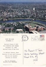 AERIAL VIEW OVER HARVARD UNIVERSITY CAMBRIDGE MA UNITED STATES COLOUR POSTCARD a