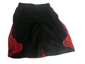NIKE JORDAN XIII RETRO 13 Dri Fit SHORTS Black Red RARE 397990-010 Men's Large