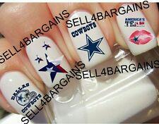 NFL Dallas Cowboys Football Logos》6 Different Designs》Tattoo Nail Art Decals