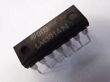 LM381 LM381N dual low noise pré-amp vcc 9-40Vdc 14 dil ET10