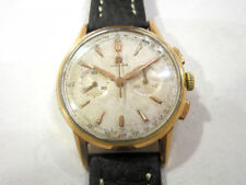 Omega chronograph cal. 320 vintage Steel Gold Plated 20 M. ref. 2278/1 manual