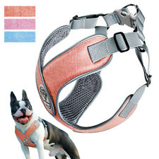 No Pull Step In Dog Harness Reflective Padded Vest Adjustable French Bulldog SML