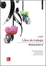 (15).CUADERNO MUSICA (CLAVE A) 1º.CICLO ESO. ENVÍO URGENTE (ESPAÑA)
