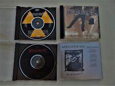 MEGADETH Rare Lot CD PROMO (Metallica Slayer Soulfly Kreator Sepultura Testament