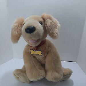 "Build A Bear Golden Retriever Puppy Dog Kennel Pals Stuffed Animal Plush 16 """