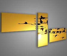 Quadri moderni astratti 180 x 70 stampe su tela canvas con telaio MIX-S_36