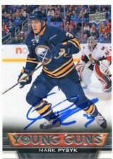 MARK PYSYK SABRES AUTOGRAPH AUTO 13/14 UPPER DECK YOUNG GUNS ROOKIE #457 *38794