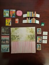 Vintage Barbie Skipper dream Room Miniature magazines typewriter & others Vhtf