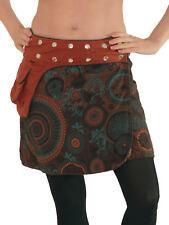 Süßer Wickelrock aus Baumwolle, Einheitsgröße, Rock Urlaub Sommer Modell Nr. 100