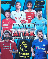 Topps Match Attax 2018/19 Complete Full Team Sets with Star Player + Team Emblem