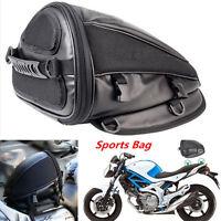 Portable Motorcycle Sport Tail Bag Back Seat Storage Carry Bag Hand Shoulder Bag