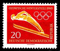 748 postfrisch DDR Briefmarke Stamp East Germany GDR Year Jahrgang 1960