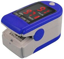 Pulse Oximeter  Finger Oxygen Monitor Home Travel Heart Rate Health Blood Easy