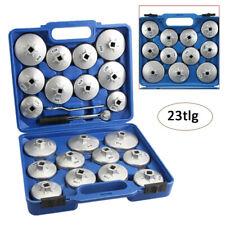 23 tlg Ölfilterschlüssel Werkzeug Koffer Set Ölfilter Ölfilterkappen Satz AO