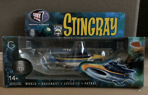 Product Enterprise STINGRAY Gerry Anderson Die Cast WASP New In Box
