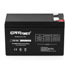NEW 12 Volt 9Ah Rechargeable SLA Battery with F2 Terminals