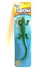 Grow Creature Green Lizard Pool Bath Tub Toy Grows 600% in Water 10 inches Long