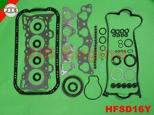 Honda 96-00 Civic del SOL S D16Y7 D16Y8 SOHC Graphite Full Gasket Set HFSD16Y