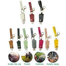 Empty Refillable Plastic Bottle With Key Ring Travel Sanitizer Bottle 30ml NEW H
