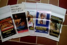5 x Erotic 80s Glamour Italian Locandina Posters