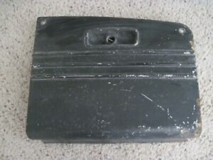 1938 PLYMOUTH GLOVE COMPARTMENT LID DOOR W/HINGE NR