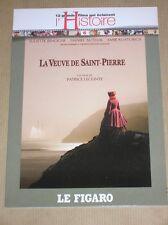 DVD / LA VEUVE DE ST PIERRE / LECONTE / BINOCHE / EXCELLENT ETAT