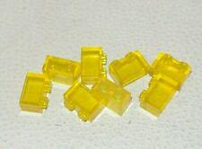 LEGO: Bundle 8x Brick 1 x 2 - Ref 3065 Trans Yellow - Set 7572 7237 76020 7964
