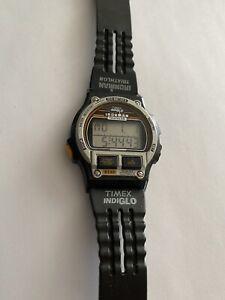 Vintage 1990's Timex Ironman Indiglo 8 Lap Triathlon Men's Digital Watch