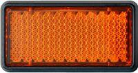HR-IMOTION Rückstrahler Katzenauge 5 cm Reflektor Chip orange selbstklebend