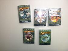 MAGIC THE GATHERING LOT DE 5 DECKS A THEME EDITION DE BASE 2005 NEUF