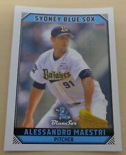 Alessandro Maestri 2018/19 Australian Baseball League card - Sydney Blue Sox