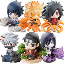 6PCS/set  5cm naruto Uchiha Sasuke Uchiha Madara Orochimaru action figure