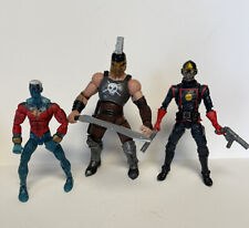 Marvel Legends Lot Ares BAF Starlord Boxset Captain Marvel Variant Toybiz