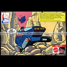 Mattel BIG JIM & JEFF COMMANDO par YVES CHALAND 1983 Pub / Publicité / Ad #B164