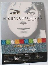 "MICHAEL JACKSON ""INVINCIBLE"" JAPAN PROMO COUNTER DISPLAY- Album Covers In Color"