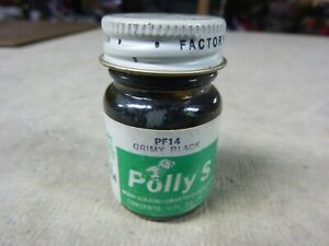 -RAILROAD MODEL PAINT [ FLOQUIL POLLYS - GRIMY BLACK