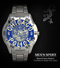 CHICAGO POLICE STEEL WATCH NEW 2020 (RARE)