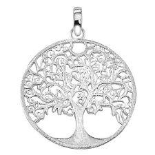 Ostheimer-Schmuck Anhänger Lebensbaum,Baum des Lebens matt 925 Sterling Silber