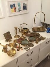 More details for bundle collection lot of brass items