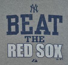 T-SHIRT S SMALL NEW YORK YANKEES BEAT THE RED SOX BASEBALL SHIRT