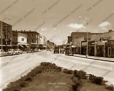 "Decatur, Alabama 1945 Historic Vintage Photo Reprint 8"" x 10"" FREE SHIPPING!"