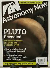 Astronomy Now Pluto Revealed Weird Wonderful World Sept 2016 FREE SHIPPING JB