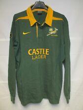 Maillot rugby AFRIQUE DU SUD SOUTH AFRICA 2003 2005 vintage coton NIKE shirt L