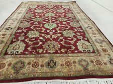Vintage Hand Knotted Oriental Rug, 4' X 6'