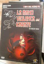 Dvd - LA MANO VIOLENTA DEL KARATE