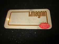 Vintage i.magnin i. magnin Credit Charge Card Pre-Owned