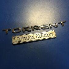 06-09 Pontiac Torrent Special Edition Emblem Rear Trunk Emblems Sign Decal Logo