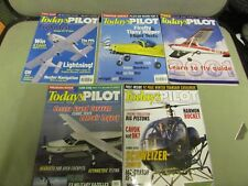 **LOOK** 4 x Todays Pilot Magazines 2001-4 Including ISSUE 1, Electric Lightning